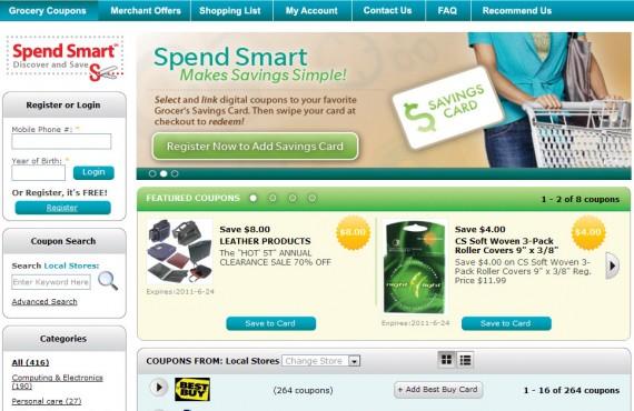 grocery coupons screenshot 1