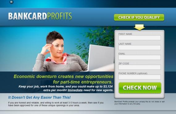 bankcardprofitsystem screenshot 1