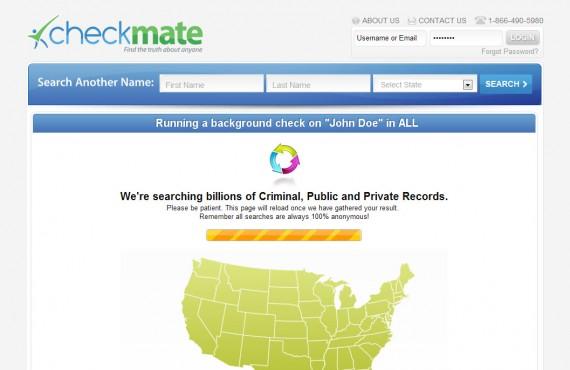 instantcheckmate website screenshot 2