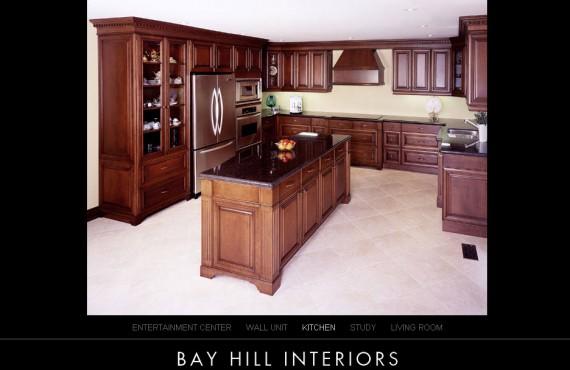 bayhill interiors website screenshot 3