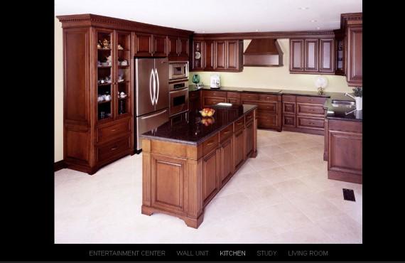bayhill interiors website screenshot 2