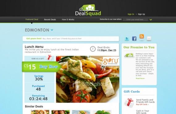 dealsquad design screenshot 1