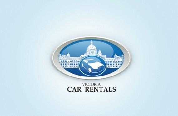 design of the logo for car rentals company screenshot 1
