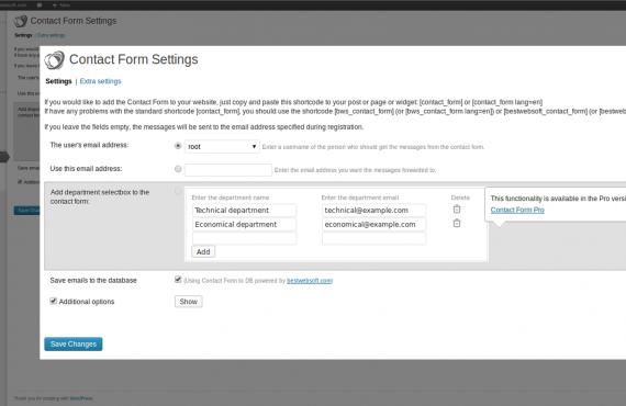 wordpress contact form plugin screenshot 2