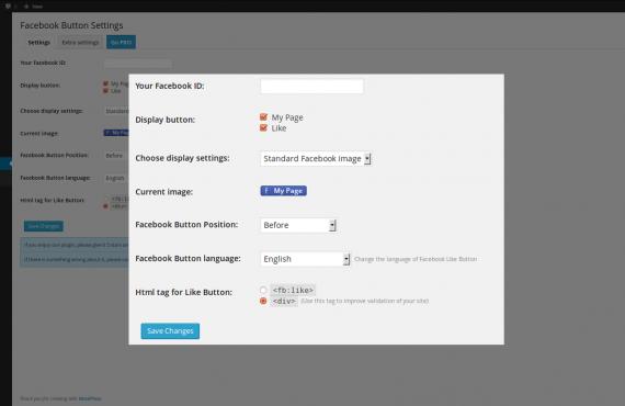 wordpress facebook like button plugin screenshot 4