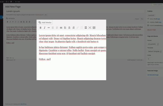 wordpress twitter plugin screenshot 4