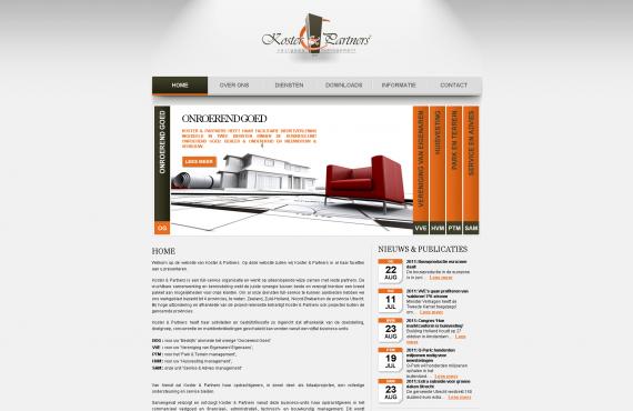 koster&partners site screenshot 1