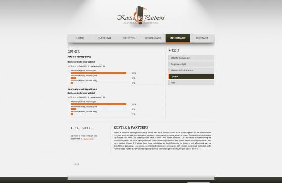 koster&partners site screenshot 3