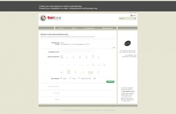 bakitone website screenshot 5