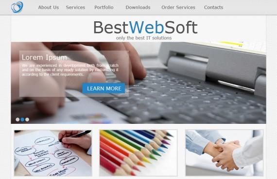 bestwebsoft website re-design screenshot 1