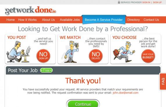 getworkdone website redesign screenshot 6