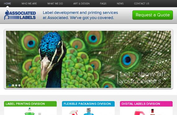 associated labels. psd to wordpress development screenshot 4