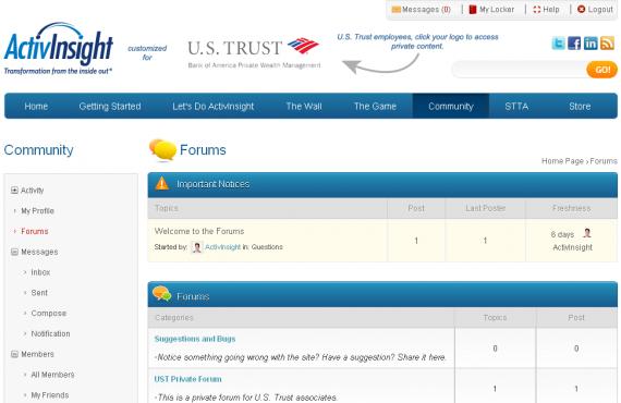 buddypress and bbpress integration and customization screenshot 2