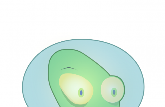 galmo the alien. transfer to a vector format screenshot 1