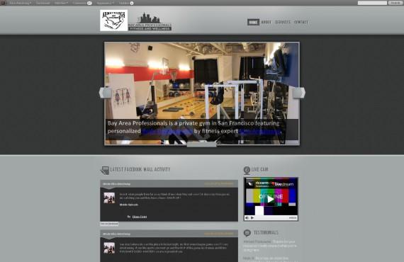 bay area professionals fitness & wellness center screenshot 1