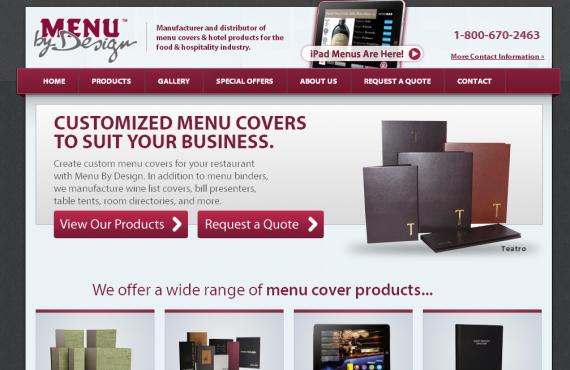 menu cover home page changes screenshot 1