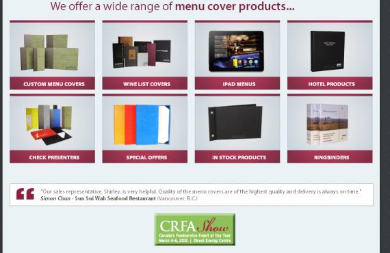 menu cover home page changes screenshot 2