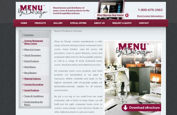 menu cover home page changes screenshot 3