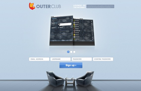 outerclub online community website graphic design screenshot 26