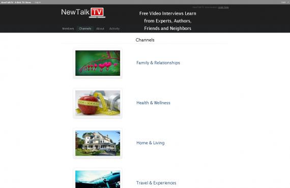 newtalktv wordpress multisite development screenshot 3