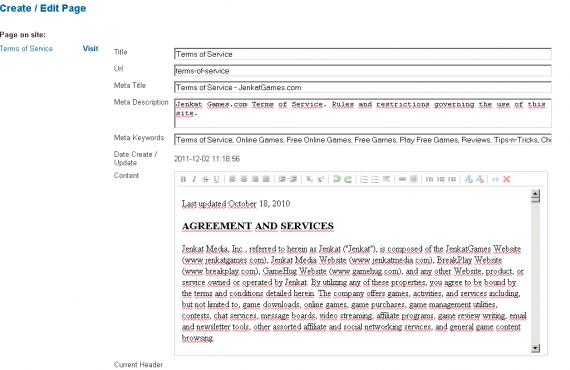 jenkatgames: improvements for a custom built website screenshot 1
