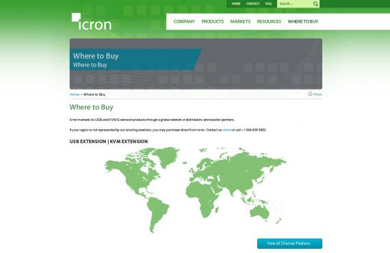 icron. psd / html to html wordpress development screenshot 3