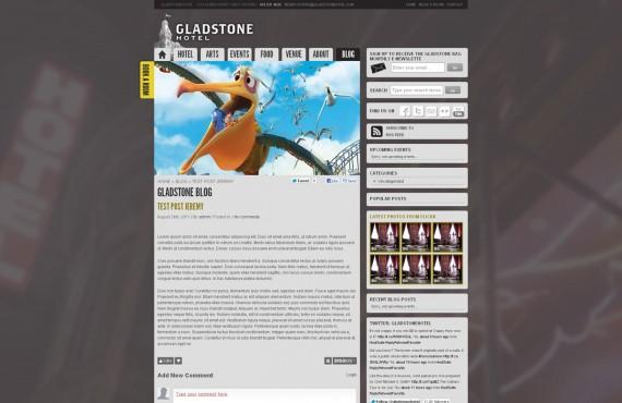 gladstone: illustrator to wordpress screenshot 2