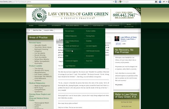 joomla website conversion to wordpress screenshot 2