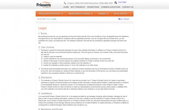 friesen's psd to wordpress development screenshot 1