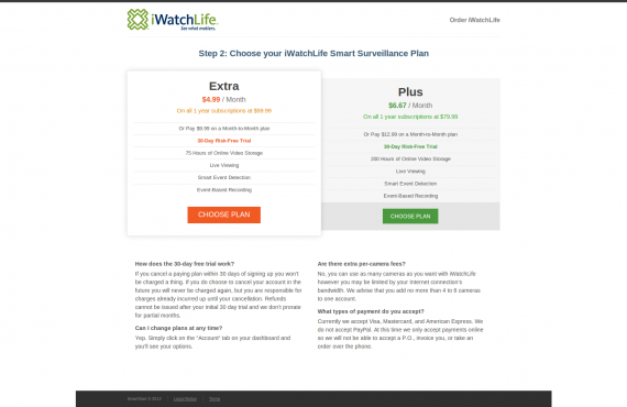 wordpress product order pages & checkout screenshot 2