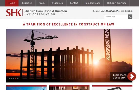 law website screenshot 1