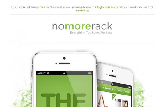 email design creation for the online shop screenshot 1