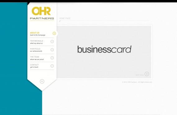 home page design screenshot 1