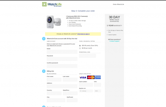 wordpress product order pages & checkout screenshot 3