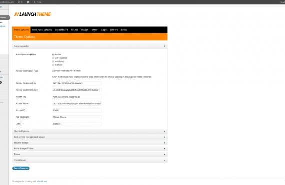 wordpress theme development screenshot 2