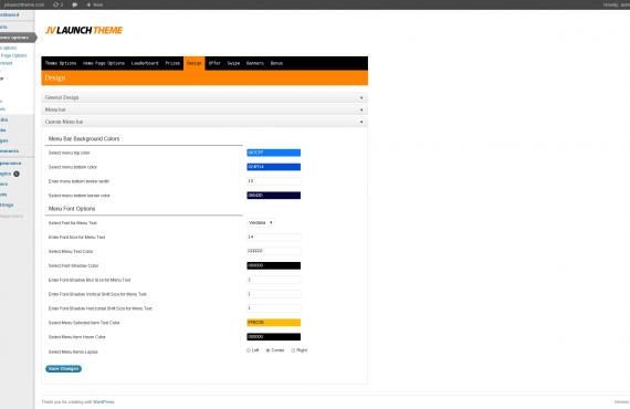 wordpress theme development screenshot 3