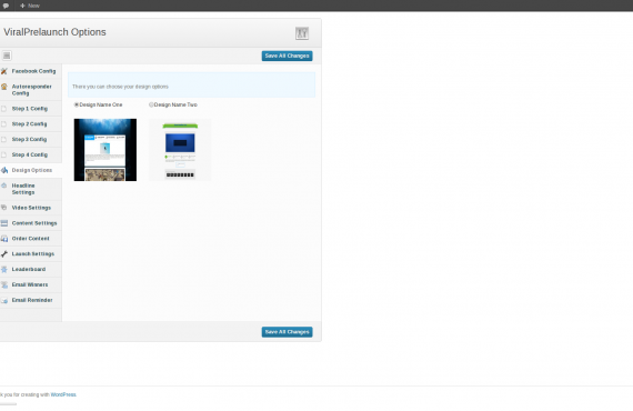viralprelaunch wordpress plugin development screenshot 2