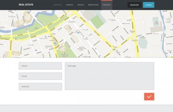 real estate – creative psd template screenshot 8