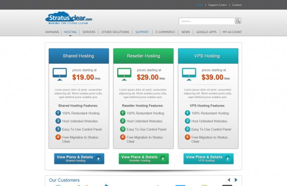 templates for the site of sale and registration of domain names screenshot 5