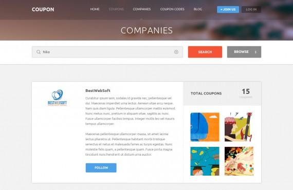coupon – coupons and promo codes psd template screenshot 5