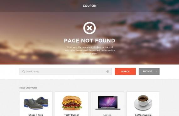 coupon – coupons and promo codes psd template screenshot 8
