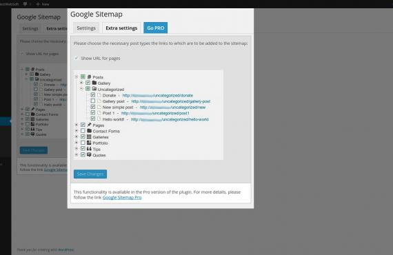 wordpress google sitemap plugin screenshot 3