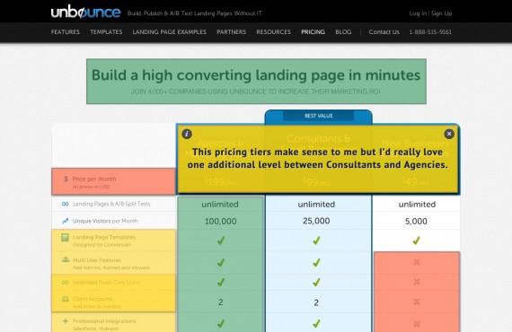 new visitor feedback product look screenshot 4