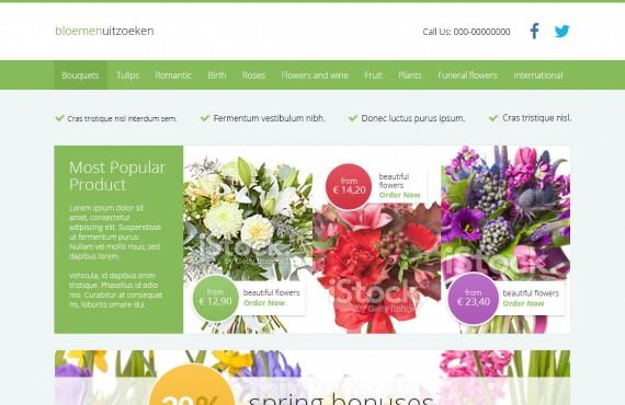 flower shop screenshot 1