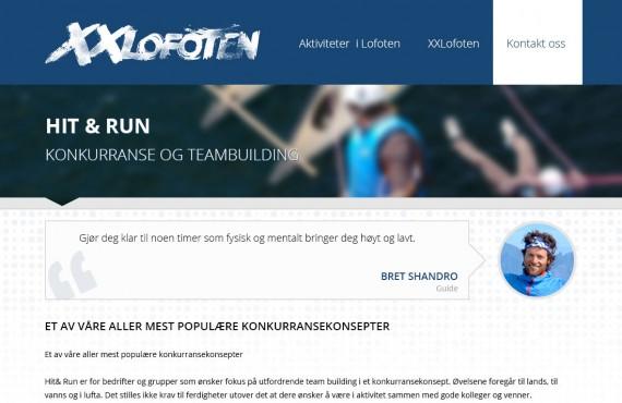 website design screenshot 3