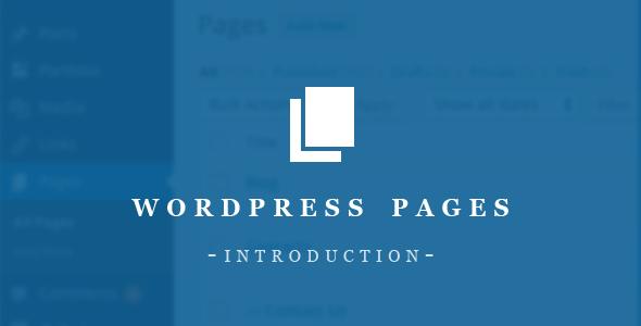 WordPress Pages Essentials