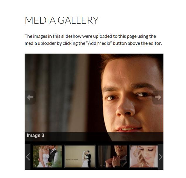 Slideshow Gallery View