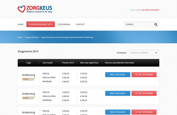 wordpress website development screenshot 2