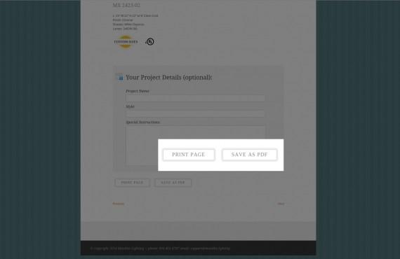 the pdf & print plugin customization – custom pdf & print buttons screenshot 3