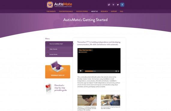 website design screenshot 11